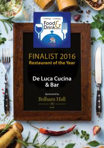 Food-&-Drink-Certificate-Restaurant-of-the-Year---De-Luca
